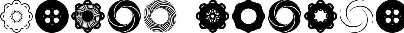 Fluid Spiral Font