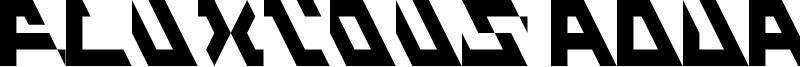 Fluxious Advance Font