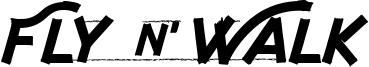 Fly n Walk Font