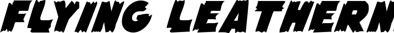 Flying Leatherneck Font