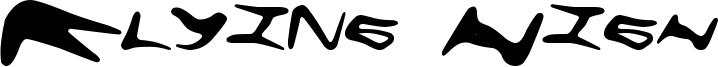 Flying High Font