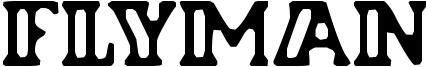 Flyman Font