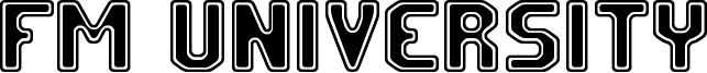 FM University Font