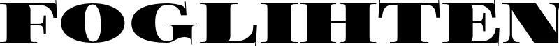Foglihten Black Pcs Font