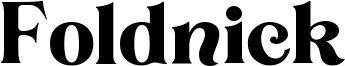 Foldnick Font