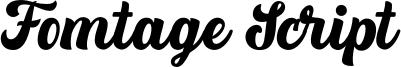 Fomtage Script Font