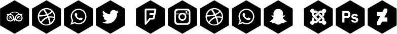 Font Icons 120 Font
