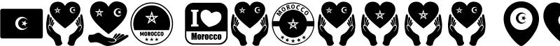 Font Morocco Algeria Font