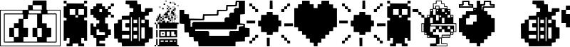 Fontalicious Thingbats Font