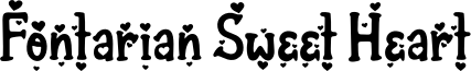 Fontarian Sweet Heart Font