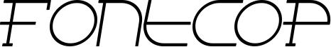 Fontcop Font