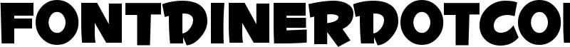 Fontdinerdotcom Huggable Font