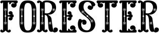Forester Font