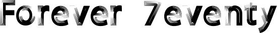 Forever 7eventy Font
