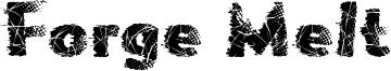 Forge Melt Font