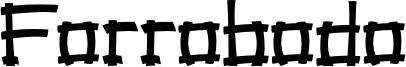 Forrobodo Font