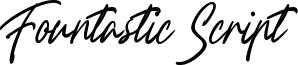 Fountastic Script Font