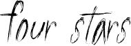 Four Stars Font