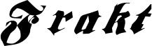 Frakt Font