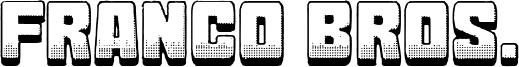 Franco Bros. Font
