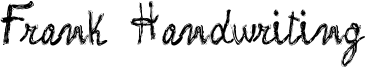 Frank Handwriting Font