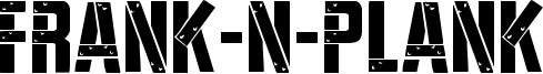 Frank-n-Plank Font