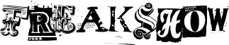 Freakshow Font