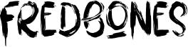 Fredbones Font