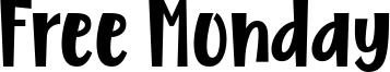 Free Monday Font