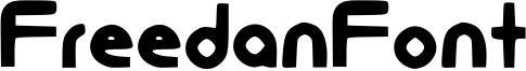FreedanFont Font