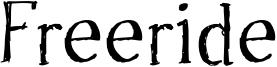 Freeride Font