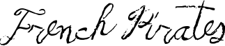 French Pirates Font