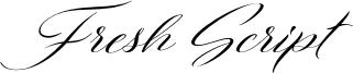 Fresh Script Font