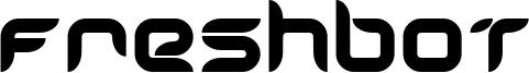 Freshbot Font