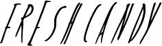 Fresh Candy Font