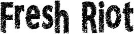 Fresh Riot Font
