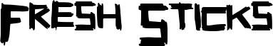Fresh Sticks Font