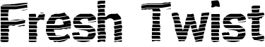 Fresh Twist Font