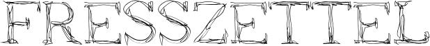 Fresszettel Font