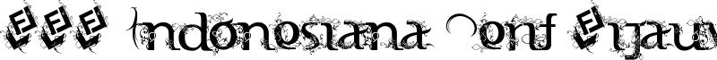 FTF Indonesiana Serif Hijauwana Font
