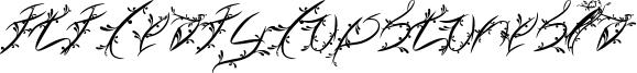 FTF Leafy Lopstonesia Font