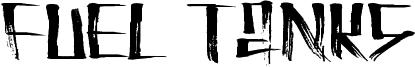 Fuel Tanks Font