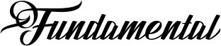 Fundamental Font