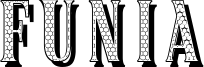 Funia Font