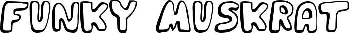 Funky Muskrat Font