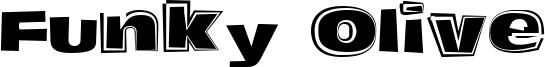 Funky Olive Font