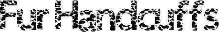 Fur Handcuffs Font