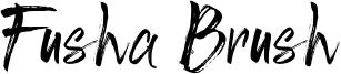Fusha Brush Font