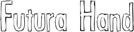 Futura Hand Font