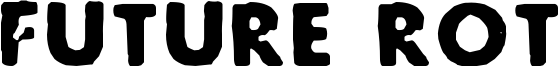 Future Rot Font